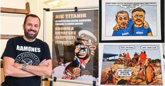 Nik Titanik: 'Bušili su mi gume na automobilu zbog karikatura'