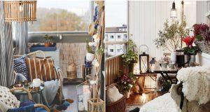 Najljepše ideje kako urediti savršen jesenski balkon