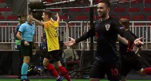 EP u futsalu, polufinale U-19, Hrvatska - Portugal
