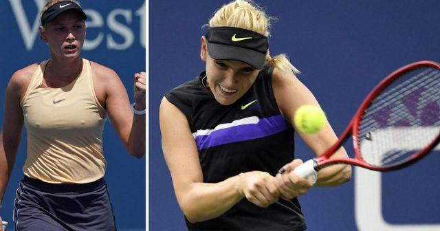 Donna Vekić - Belinda Benčić, četvrtfinale US Opena