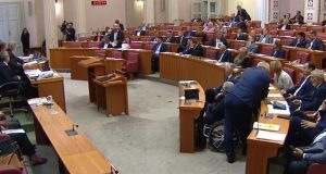 VIDEO, KAOS U SABORU Glasovanje odgođeno jer Bandićevi zastupnici nisu došli: 'Svi smo taoci Milana Bandića, on ucjenjuje vladajuću većinu...'