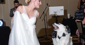 Mladenka prvi ples otplesala sa svojim psom