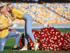 Zinčenko zaprosio curu na stadionu