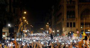 Katalonija: presuda za devetero dužnosnika pokrenula masovne prosvjede