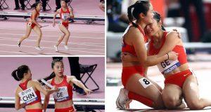 Ženska kineska štafeta ne zna pravila