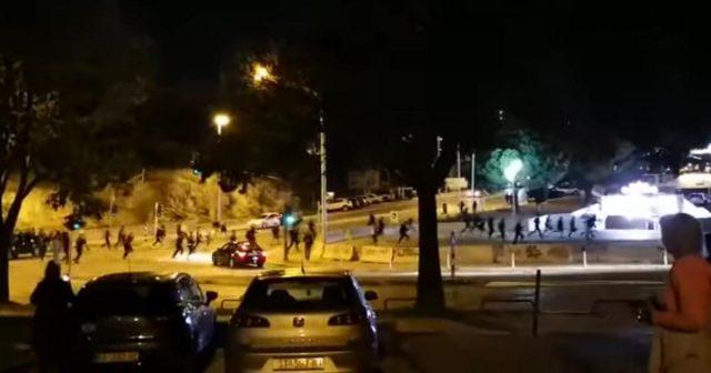 Potukli se navijači u Splitu, privedeno je šest osoba