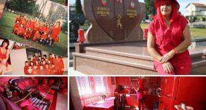 Zorica živi okružena crvenom bojom: 'I auto smo prebojali'