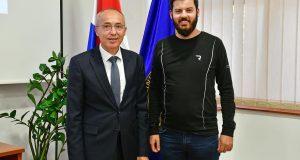 MINISTAR KRSTIČEVIĆ SE SASTAO S MATOM RIMCEM 'Imate jasnu viziju, vjerujete u Hrvatsku, kao i pripadnici Hrvatske vojske'