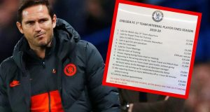 Chelsea: Cjenik kazni Franka Lamparda