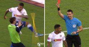 VIDEO Hajduk - Osijek 3-2, Jairo zabio za pobjedu pa razbio korner zastavicu i dobio crveni karton