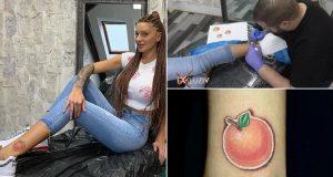 Nije joj dovoljno C vitamina: Kristina tetovirala mandarinu