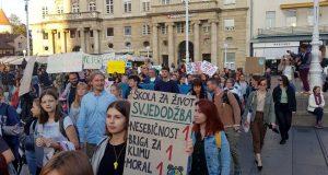 U petak novi prosvjedi za klimu u Zagrebu i Osijeku
