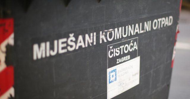 Čistoća započela akciju označavanja spremnika za miješani komunalni otpad