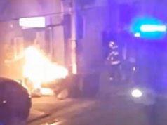 Ovaj put nisu auti: U Zagrebu gorjelo smeće, požar ugašen