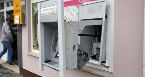 Već je bio na meti: Razbojnici opljačkali bankomat u Jakovlju