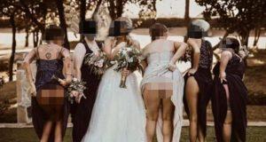 Nikome se ne sviđa: Djeveruše pokazale svoje guze na svadbi