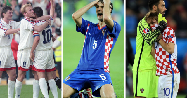 Euro 1996., Euro 2008. i Euro 2016. - svi Hrvatski porazi u nokaut fazi Europskog prvenstva