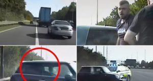 VIDEO: POKUŠAO PREVARITI POLICIJU PA ZAVRŠIO U ZATVORU Jurio je 220 km/h, a onda se hitro prebacio na stražnje sjedalo i tvrdio da nije vozio