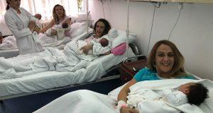 Tri sestre rodile su na isti dan: 'Hrabrile smo se i u trudovima'