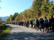 INCIDENT U GORSKOM KOTARU: Tijekom policijske intervencije ozlijeđen migrant, prevezen u riječku bolnicu