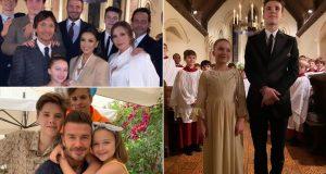Beckhamovi krstili sina (14) i kći (8), Longoria im je kuma
