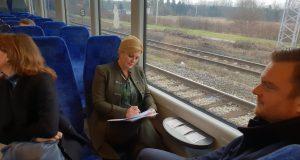 Kolinda u vlaku ide za Zagreb: 'Ja sam spremna za večeras'