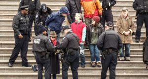 Glumicu Sally Field uhitili na prosvjedu protiv klimatskih promjena