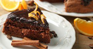 Jednostavna čokoladna torta s narančama bez brašna
