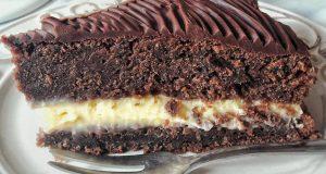 Čokoladna torta s kremom od naranče idealna za zimska druženja