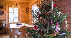 Božićna čarolija u finskoj drvenoj kući na zagorskom bregu