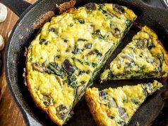 Složenac od špinata, gljiva i tri vrste sira pogodan i za proteinsku dijetu