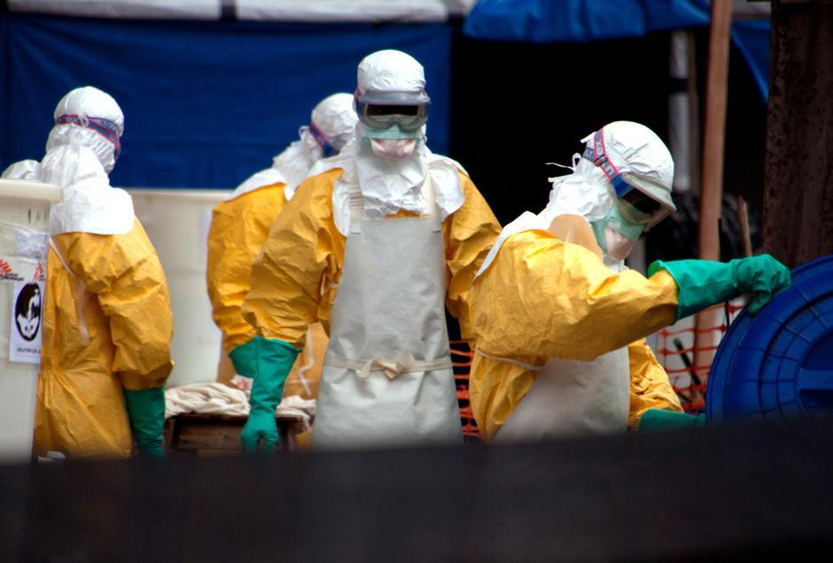 Ebola medical workers | Autor: Kristin Palitza/DPA/PIXSELL