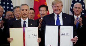 Trump i Kinezi potpisali prvu fazu trgovinskog sporazuma