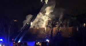 Izbio požar u napuštenoj zgradi pored zagrebačkog FER-a