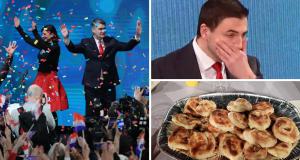 Predsjednički izbori: Slavlje u stožeru pobjednika Zorana Milanovića