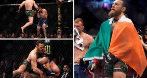 VIDEO Nokaut: Conor McGregor nokautirao Donalda Cerronea