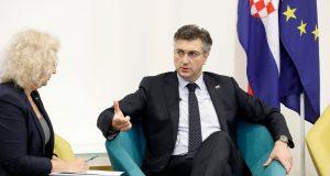 PLENKOVIĆ 'Prvi mjesec predsjedanja EU-om bio intenzivan i uspješan. Brexit? Za hrvatske građane i tvrtke neće se dogoditi ništa dramatično'
