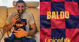 Rakitić je Čilićevom sinu poslao dres: 'Hvala na najboljem daru'