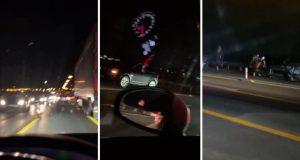Jedan ozlijeđen u prometnoj na A3: 'Auto je završio na ogradi'