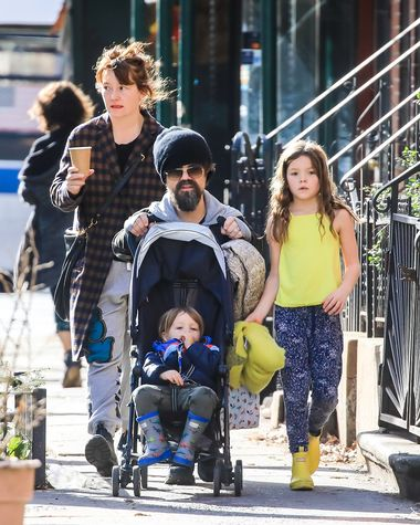 01/13/2020 EXCLUSIVE: Peter Dinklage and family were spotted taking a family stroll in New York City. The 'Game of Thrones' star wore a black beanie and a grey hoodie. Erica Schmidt wore a plaid wool coat, grey sweats, and black boots., Image: 492562955, License: Rights-managed, Restrictions: Exclusive NO usage without agreed price and terms. Please contact sales@theimagedirect.com, Model Release: no, Credit line: TheImageDirect.com / The Image Direct / Profimedia