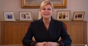 Kolinda ponosna na mandat: 'O mom radu govorit će povijest'