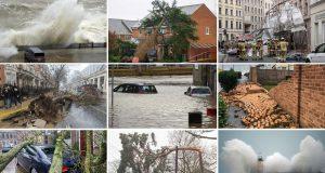 FOTO, VIDEO: MOĆNA OLUJA SNAŽNO UDARILA DILJEM SJEVERA EUROPE Vjetar čupa drveće iz korijenja, ulice su poplavljene, letovi se masovno otkazuju