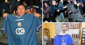 Dinamo promijenio ime, Valentinovo 2000., 20 godina, Danijel Baranašić, Bad Blue Boysi: Ja sam taj čovjek s fotografije