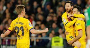 La Liga, Primera: Real Betis - Barcelona 2-3; Obje momčadi s deset igrača, dominirao Nabil Fekir