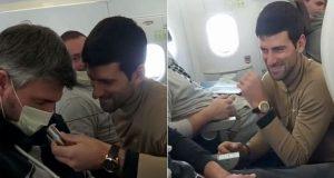 VIDEO: PA ŠTO MU TO RADE!? Goranova supruga objavila snimku iz aviona, u glavnoj ulozi je najbolji tenisač svijeta: 'Ovako zezat poštenog čovjeka...'