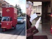 Koronavirus: Video: Roma iznenadila starije navijače dresovima i hranom...