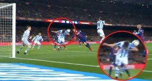 Barcelona - Real Sociedad 1-0; Pogledajte video: Je li trebao biti penal za Barcelonu?