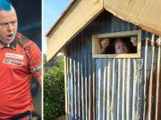 Koronavirus: Peter Wright, svjetski prvak u pikadu, trenira bez problema: Tko izgubi, čistit će kokošinjac