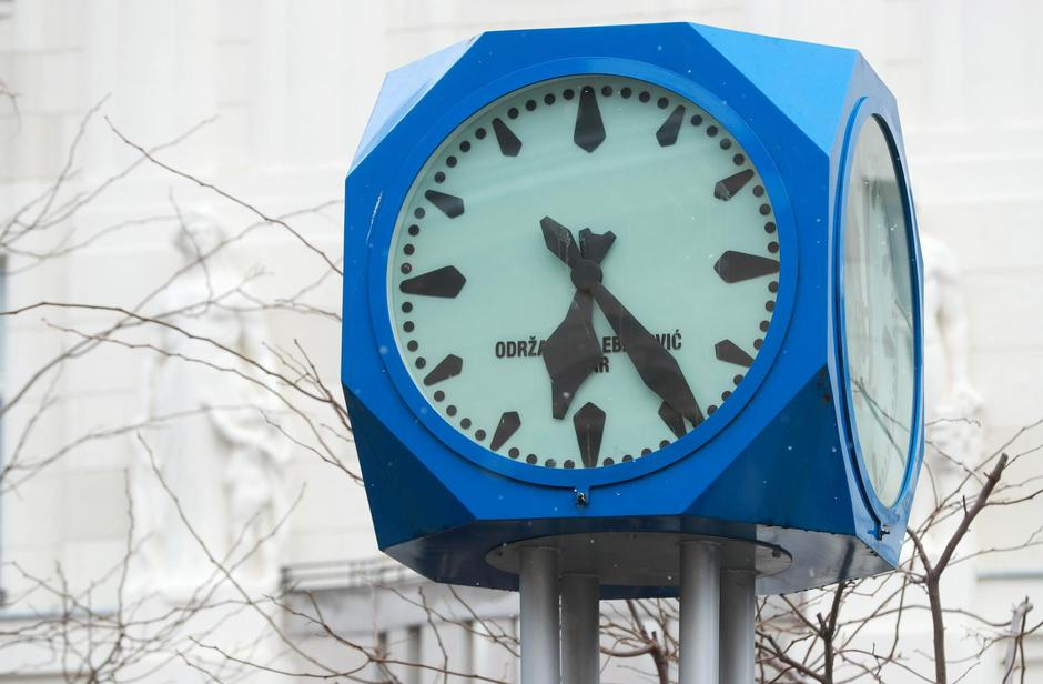 Zagreb: Sat na Britancu stao točno u vrijeme potresa | Autor: Sanjin Strukic/PIXSELL