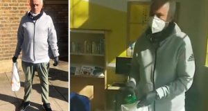 Koronavirus: Jose Mourinho dostavlja hranu i lijekove